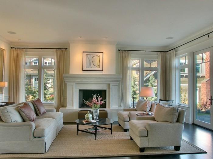 Canapé-d-angle-relaxation-idées-comment-amenager-son-salle-de-séjour-vaste