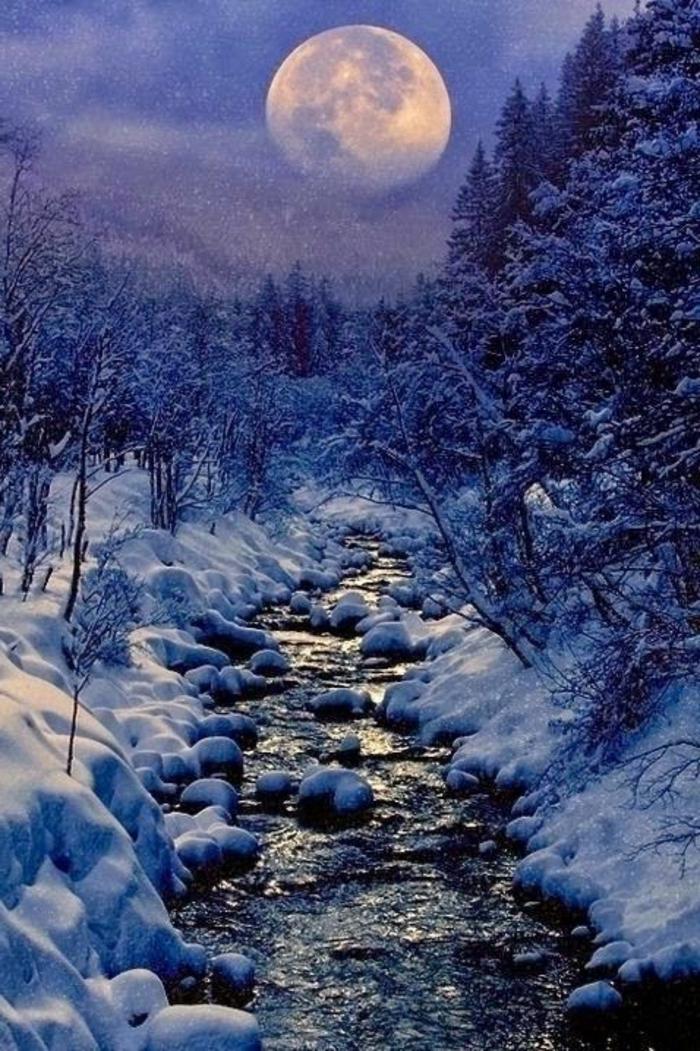 Le paysage d 39 hiver en 80 images magnifiques for Le paysage