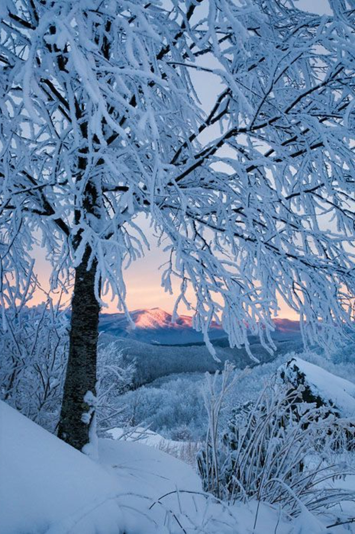 le paysage d 39 hiver en 80 images magnifiques. Black Bedroom Furniture Sets. Home Design Ideas