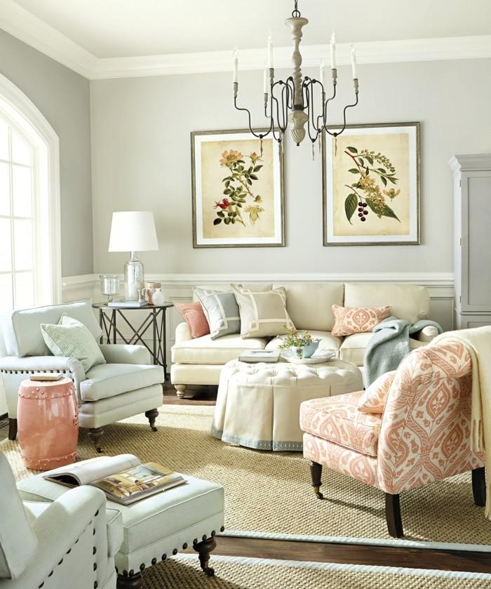 Decoration-couleur-corail-déco-corail-salon-cool-décoration-de-salon-idee-deco-petit-salon-decoration-salon-blanc