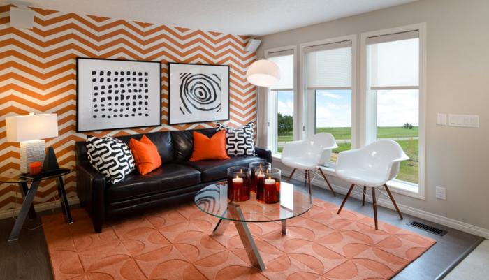 Decoration-couleur-corail-déco-corail-salon-vaste-décoration-de-salon-idee-deco-petit-salon-decoration-salon-blanc