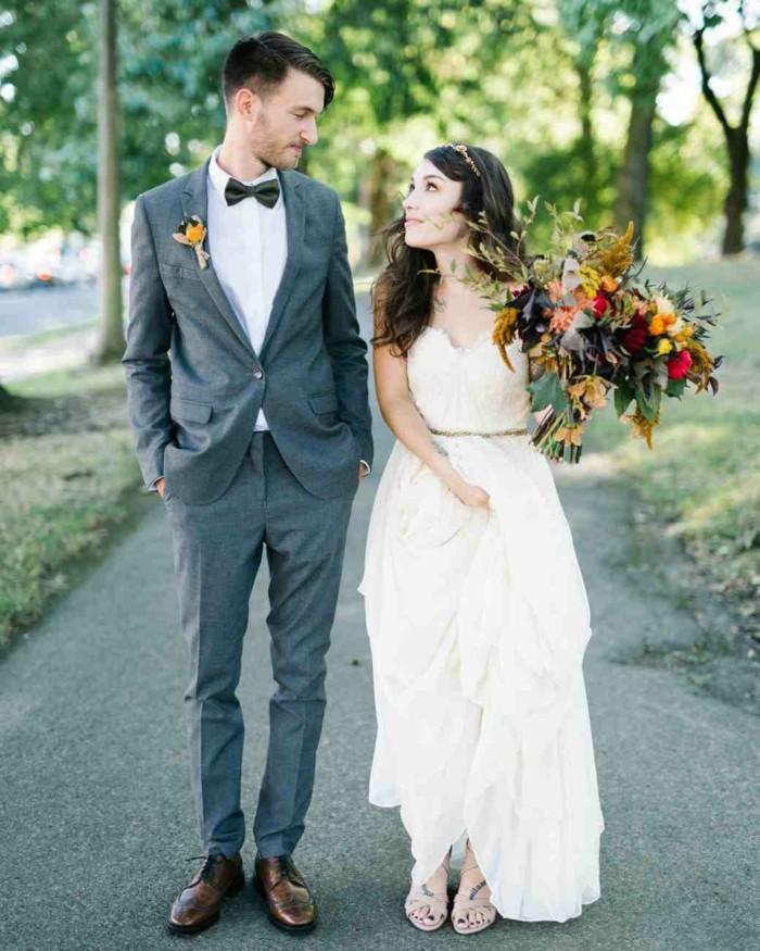 Formidable-robe-mariée-robe-mariage-années-50-s-inspiration-boheme