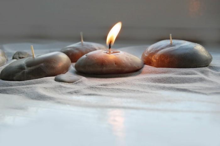 Galets-décoratifs-bougies-bougie-pour-la-maison