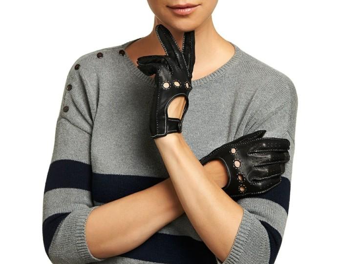 Gants-en-cuir-bruns-conduite-moto-femme-mitaine-cuir-homme-mitaine-cuir