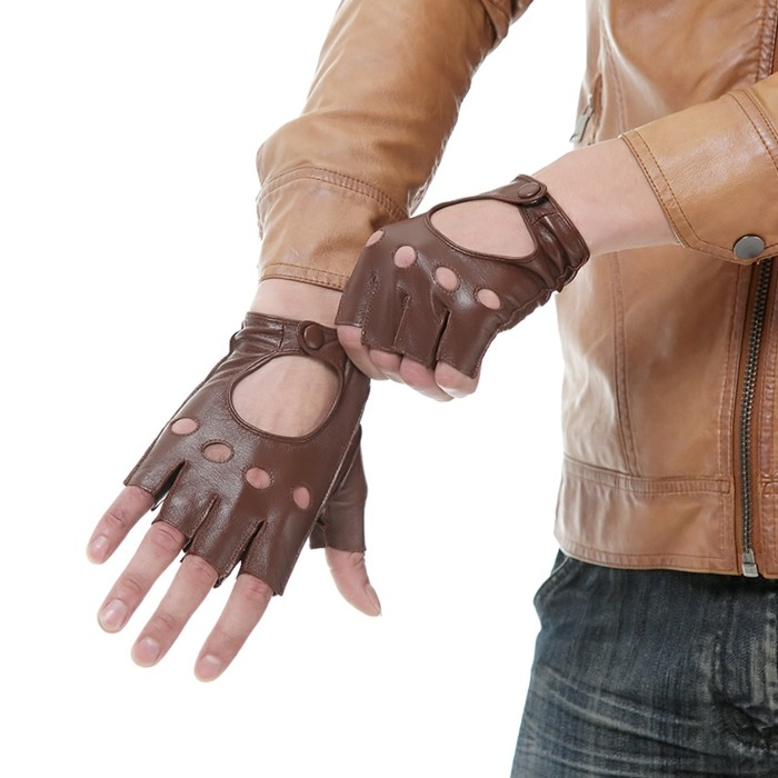 Gants-en-cuir-costume-noir-brun-hommes-femmes-luxe=mitaines-gants-pecari-mitaine-cuir