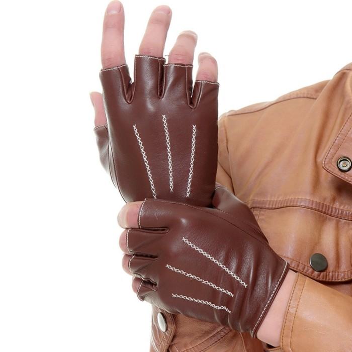 Gants-en-cuir-femme-homme-luxe-conduite-moto-mitaines-mitaine-cuir-homme-gants-pecari
