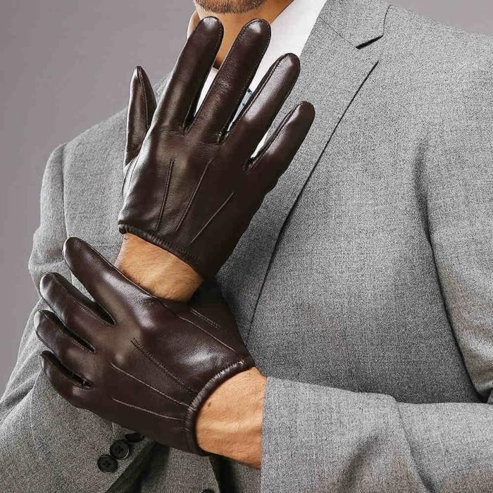Gants-en-cuir-femme-homme-luxe-conduite-moto-mitaines-brun3-resized
