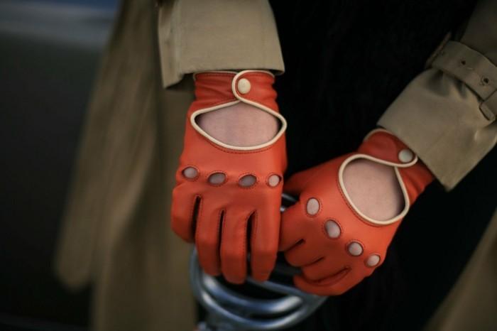 Gants-en-cuir-oranges-feminin-conduite-homme-femme-gants-pecari