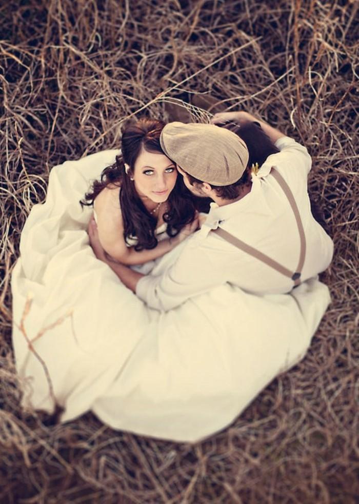 Idée-robe-de-mariée-courte-robe-de-mariée-vintage-robe-marier-couple