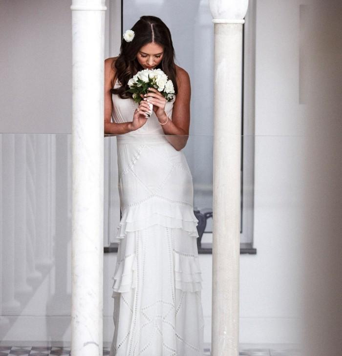 Idée-robe-de-mariée-courte-robe-de-mariée-vintage-robe-marier-longue