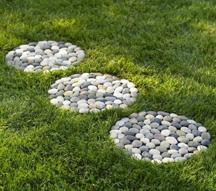 Galets d coratifs id es et combinaisons pour votre for Decoration de jardin avec des galets