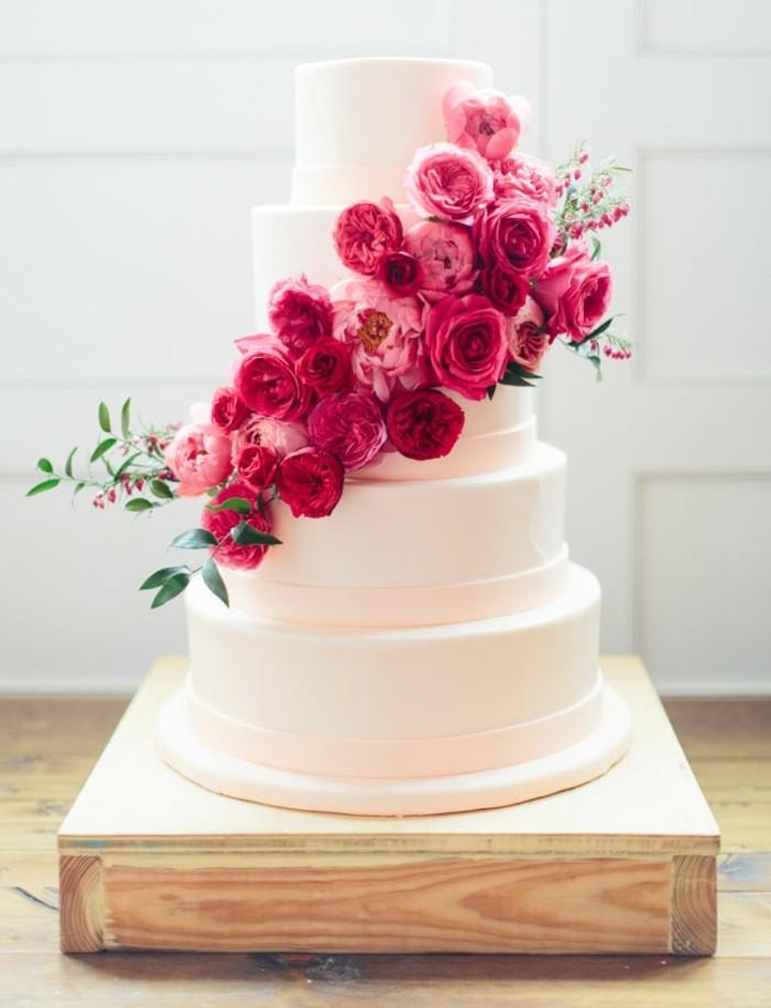 Incroyable-image-de-gâteau-d-anniversaire-image-de-gateau-roses