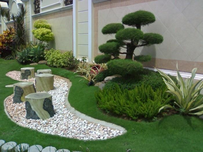 Jardin-Galets-décoratifs-gravier-gravillon-mur