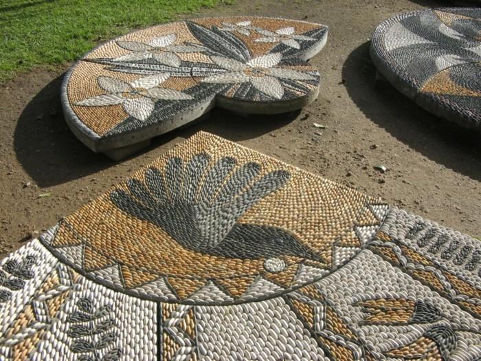 Mosaíque-Galets-décoratifs-gravier-gravillon