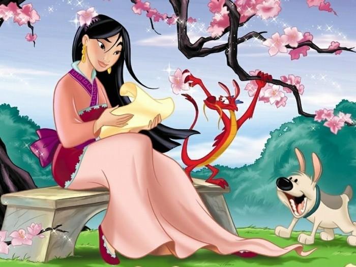Mulan-meilleurs-dessins-animés-walt-disney-enfant