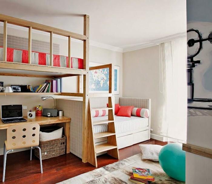 Salle-de-séjour-corail-rouge-decoration-interieur-chambre-enfant