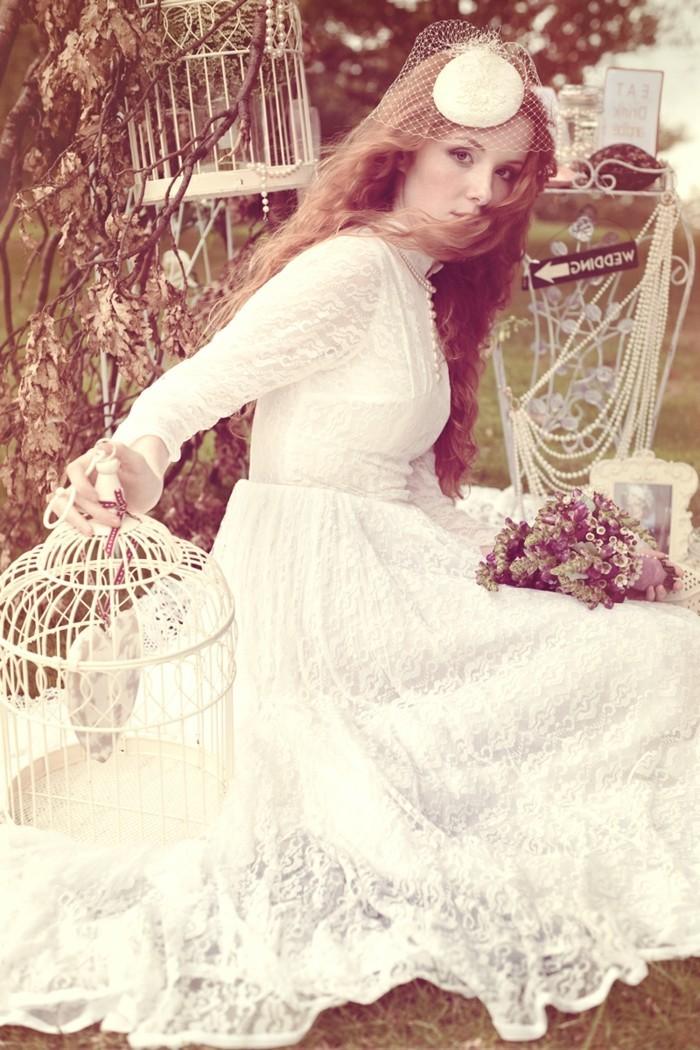 Vintage-robe-de-mariée-robe-mariée-vintage-tendance-cage