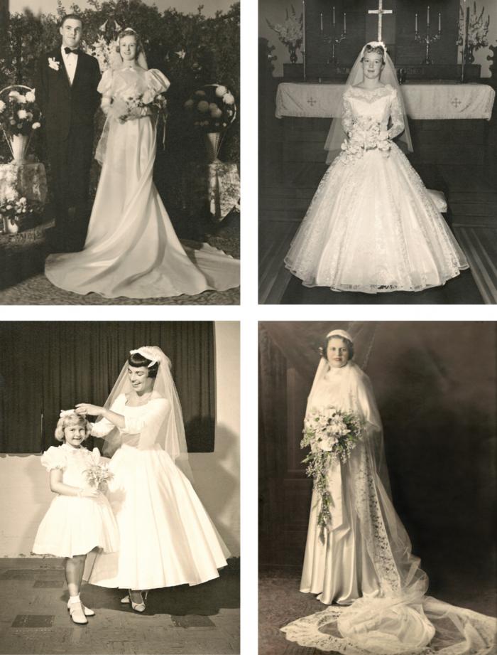 la robe de mari e vintage les meilleures variantes