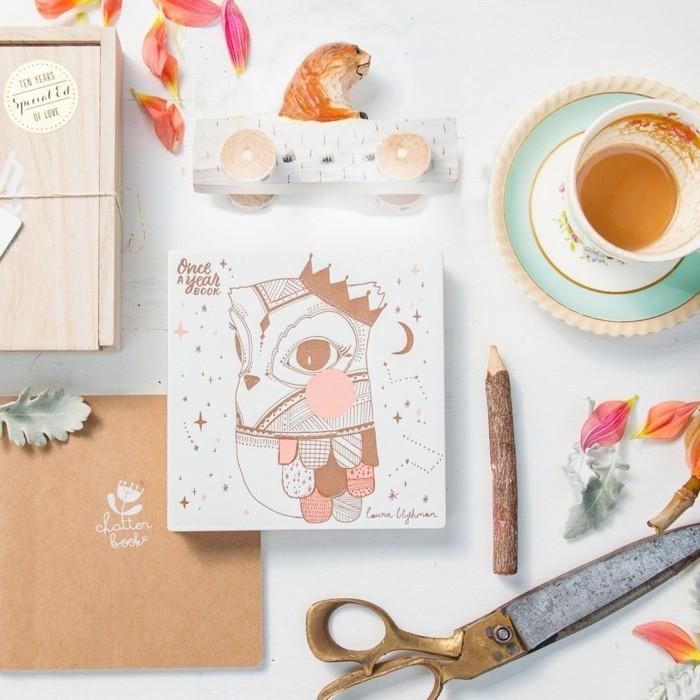 adorable-album-photo-pour-bebe-album-photo-bébé-scrapbooking-belle-idée