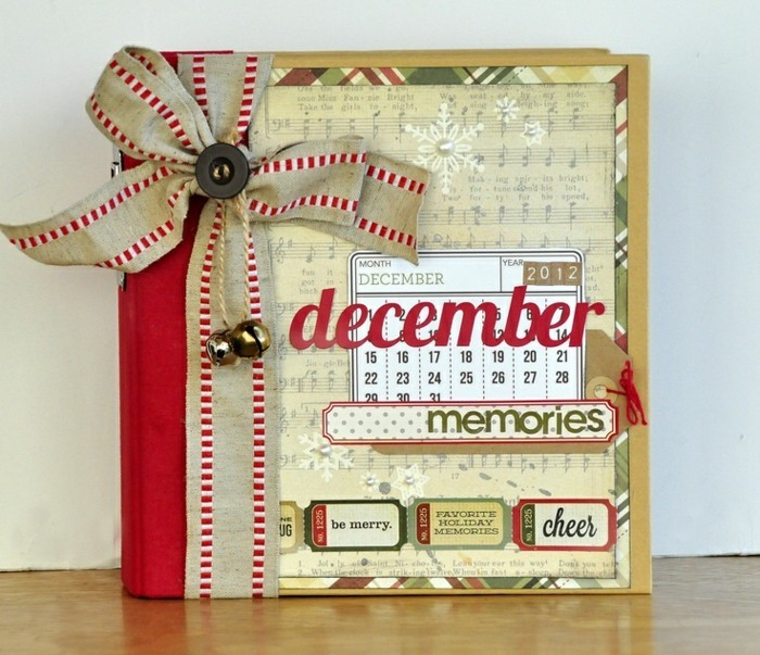 adorable-album-photo-scrapbooking-trop-cool-idée-memoires-de-decembre