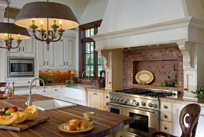 aménagement-cuisine-crédence-cuisine-crédence-de-cuisine-de-beauté-rustique