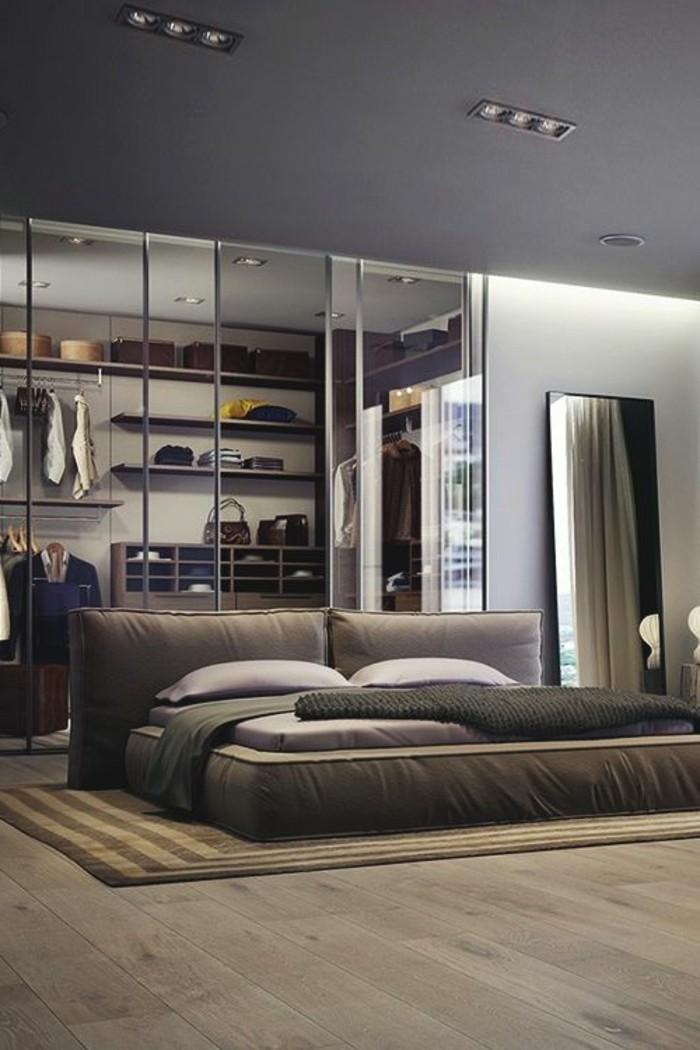 Parquet Gris Chambre Latest Chambre Moderne Parquet With