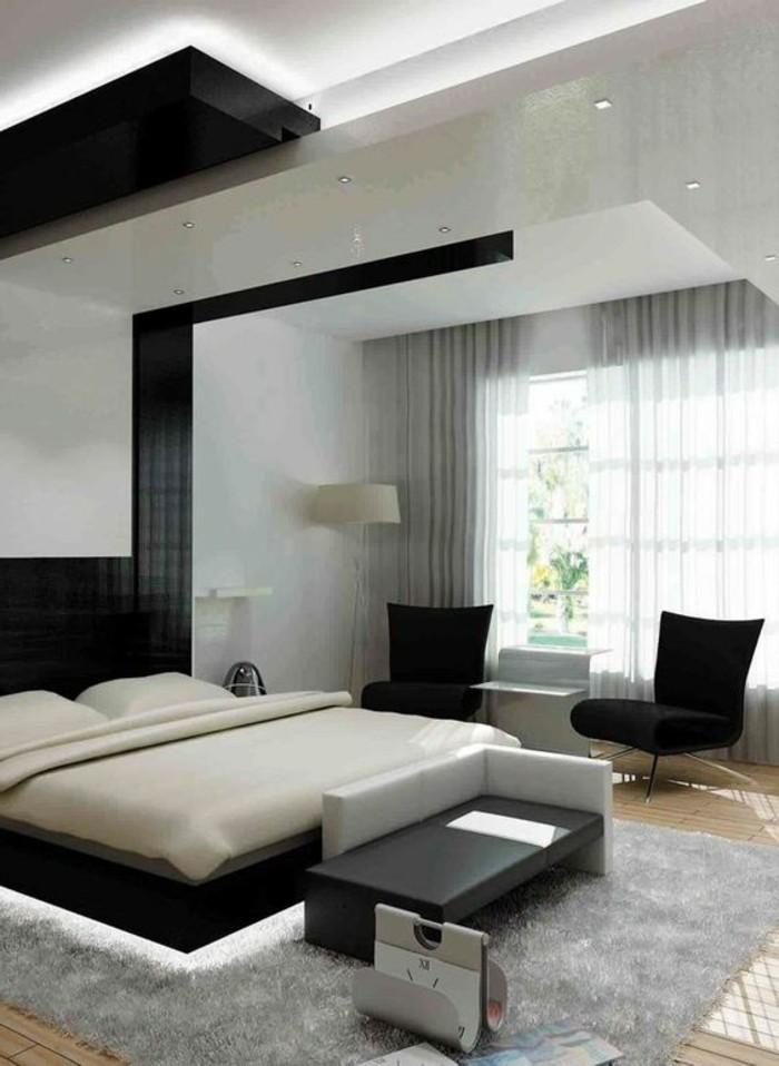 Chambre grise et beige photos de conception de maison - Chambre gris et beige ...