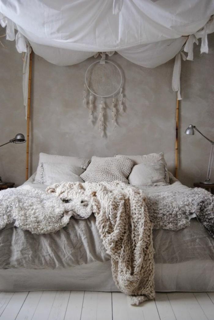 Comment incorporer la couleur gr ge id es en photos for Chambre a coucher style empire