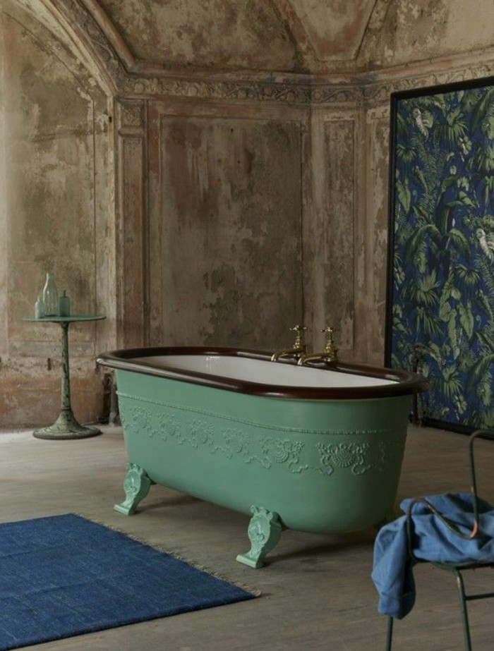 40 photos d 39 int rieur de la baignoire ancienne. Black Bedroom Furniture Sets. Home Design Ideas
