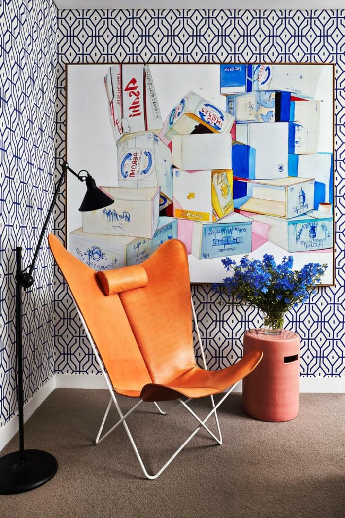 belle-chaise-table-pliante-table-à-manger-décoration-intérieur-design-intérieur