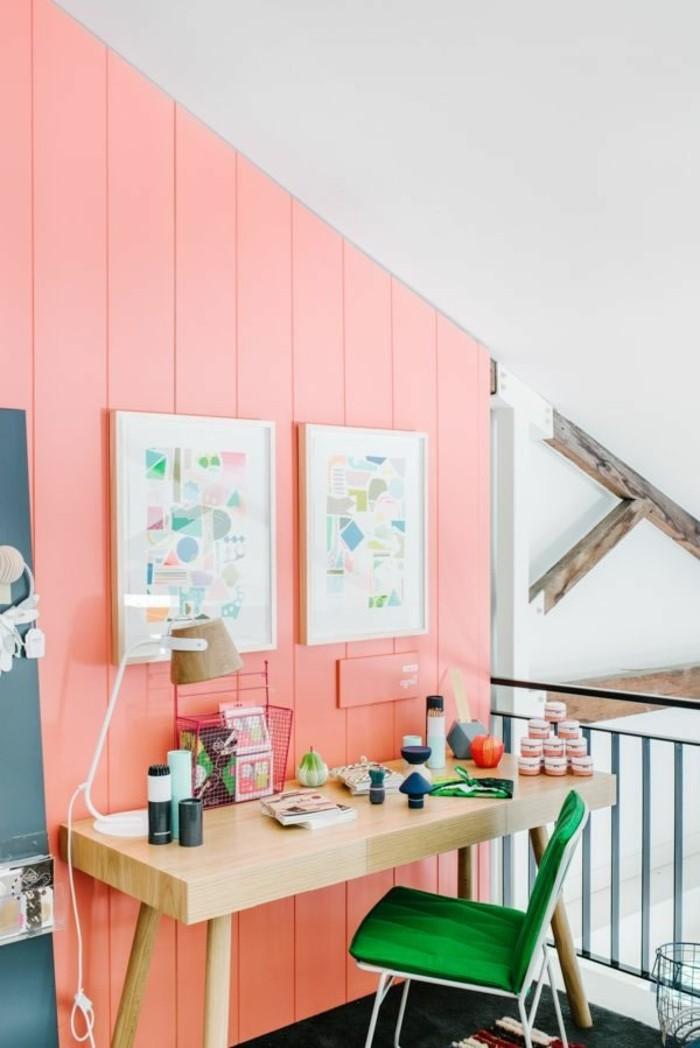 belle-decoration-salle-a-manger-maison-decoration-mur