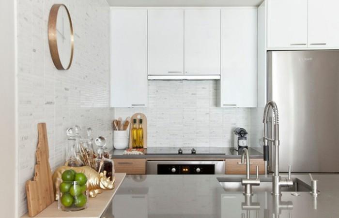 belle-idée-aménagement-petite-cuisine-petite-cuisine-aménagée-bien-aménager-une -petite-cuisine