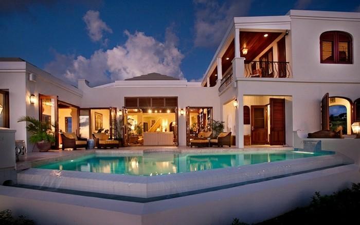 A la recherche de la plus belle maison du monde - Image de belle villa ...