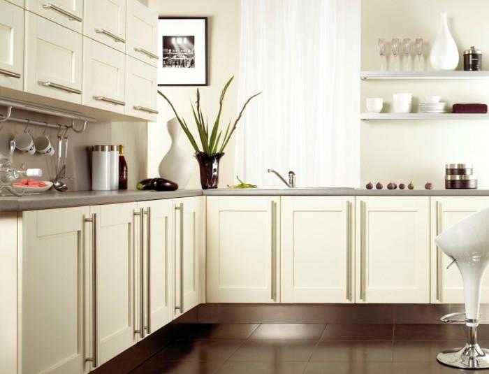 blanc-cuisine-idée-petite-cuisine-aménager-une-petite-cuisine-ouverte
