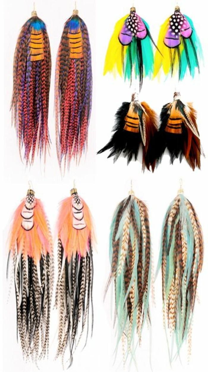 boucle-d-oreille-pendante-plume-de-paon-coloré-comment0choisir-les-boucles-d-oreiles