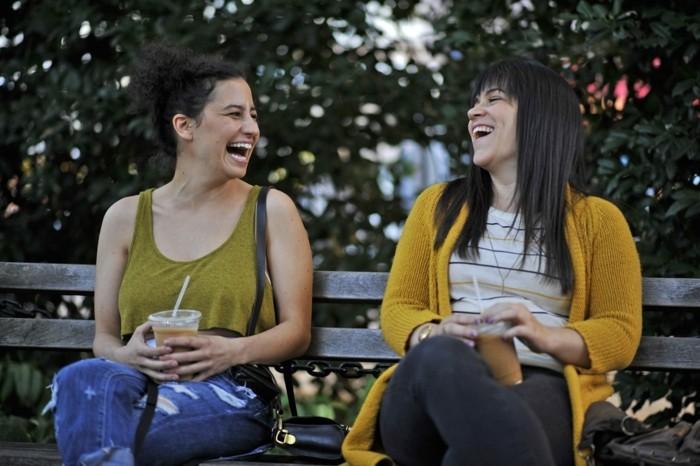 "Abbi Jacobson and Ilana Glazer (l-r) ""Broad City"" photo credit: Walter Thompson"