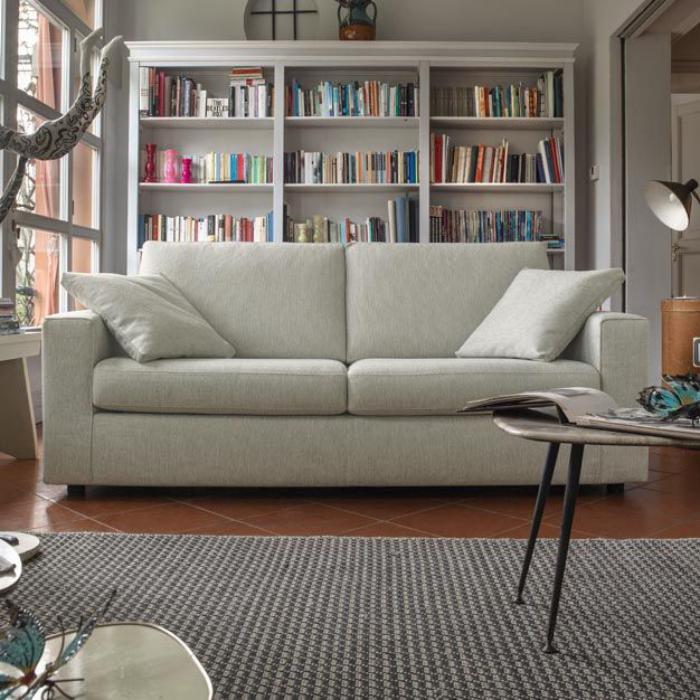canapé-poltronesofa-deux-places-et-bibliothèque-blanche