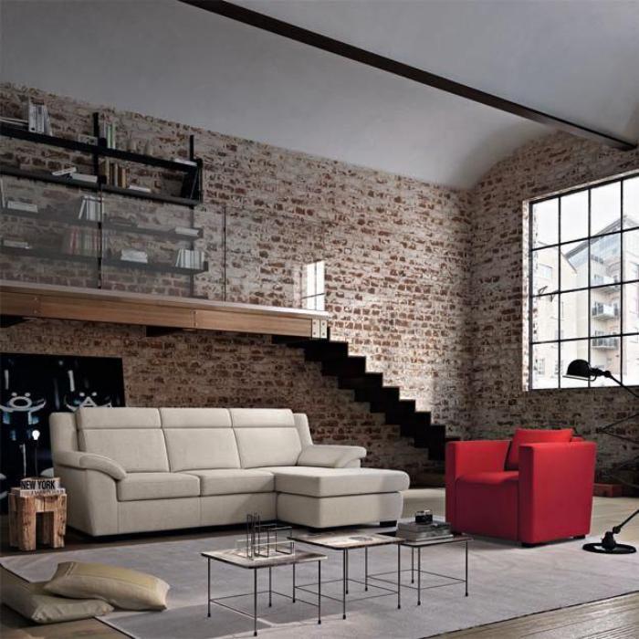 Le canap poltronesofa meuble moderne et confortable for Canape avec bibliotheque integree