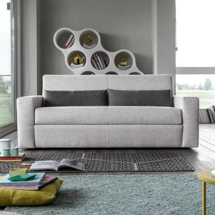 canapé-poltronesofa-gris-clair-textile