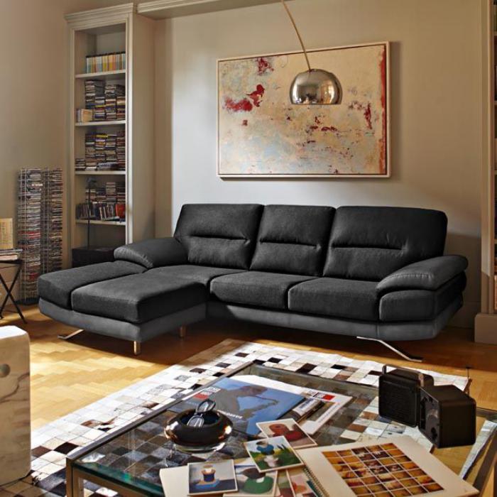 le canape poltronesofa meuble moderne et confortable With couleur qui va avec le gris clair 2 le canape poltronesofa meuble moderne et confortable