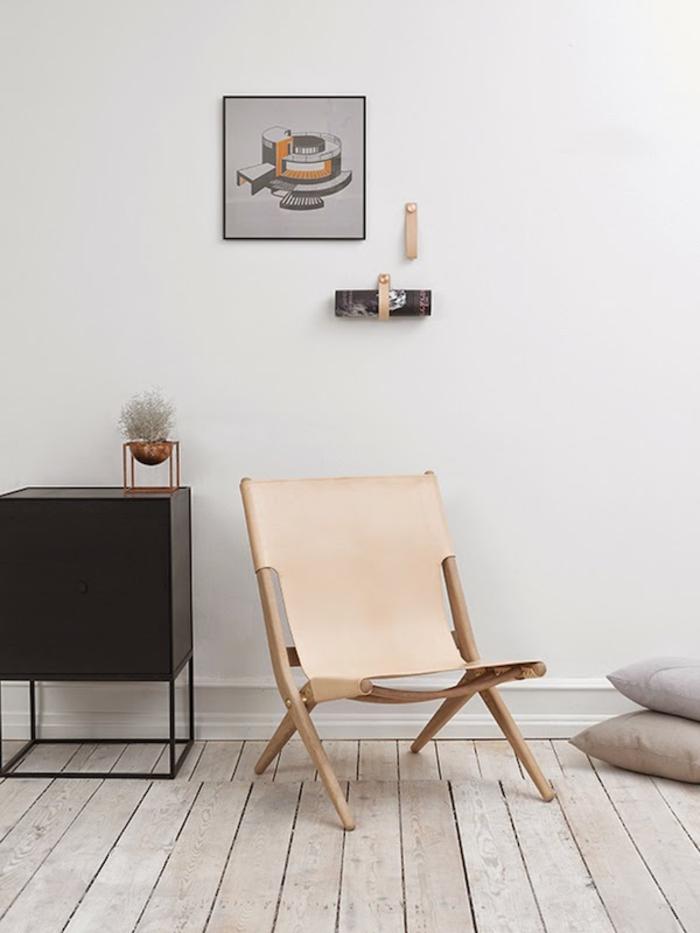 Uniques id es pour la d co avec la chaise pliante for Chaise beige salle a manger pour deco cuisine