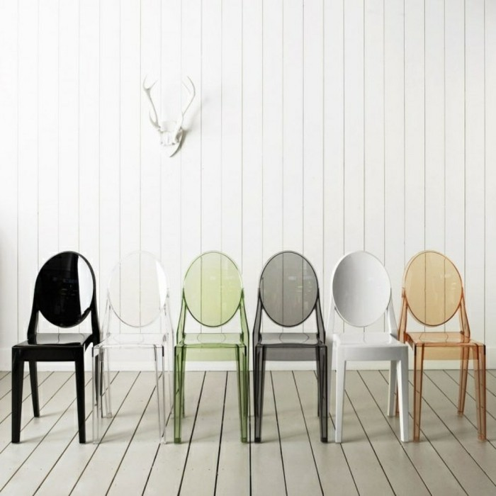 Pourquoi choisir la chaise design transparente for Chaises colorees