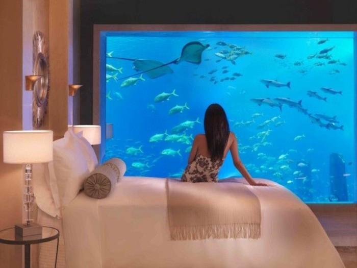 L aquarium mural en 41 images inspirantes - Parasol mural pas cher ...