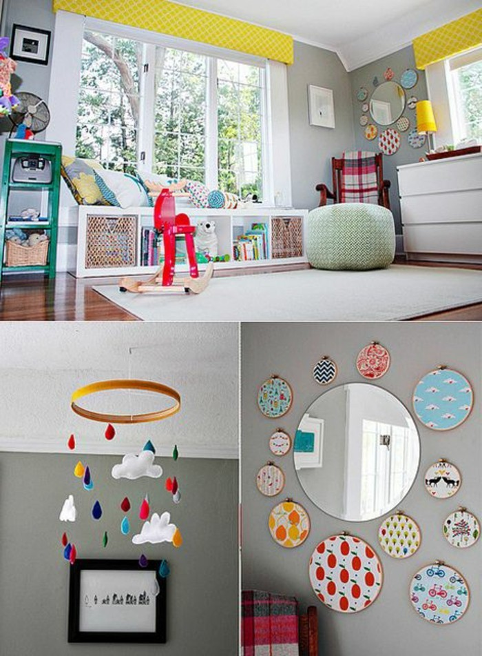 chambre-bébé-mixte-jolie-idee-pour-une-chambre-bebe-complete-pas-cher