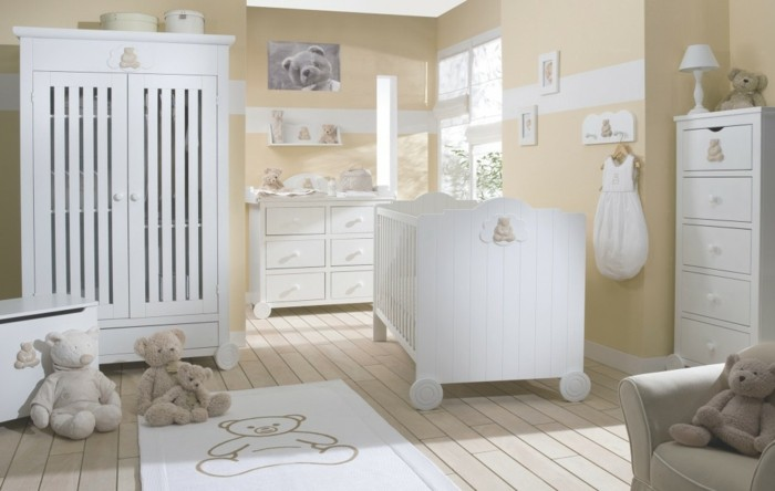 La chambre b b mixte en 43 photos d 39 int rieur for Humidifier la chambre de bebe