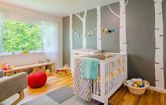 chambre-complete-pas-cher-murs-gris-deco-murale-pour-les-chambres-bbe