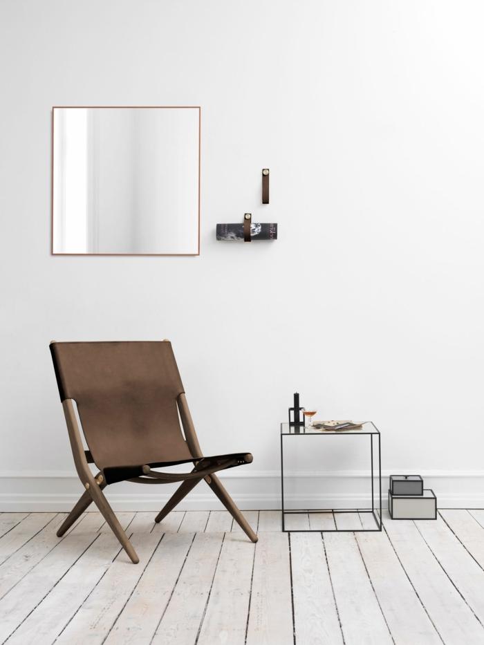 Uniques id es pour la d co avec la chaise pliante - Chaise de cuisine style bistrot ...