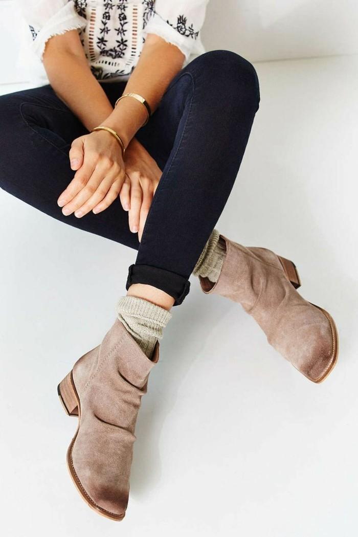 chaussures-bottines-fourrées-femme-bottine-femme-cuir-beige