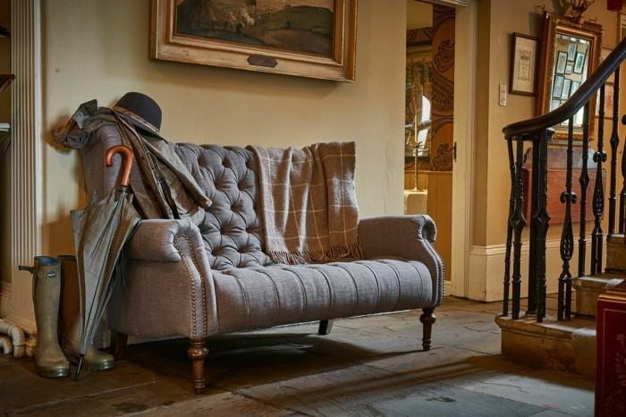 Le canap lin pour un salon styl en 45 images magnifiques - Decoration en anglais ...