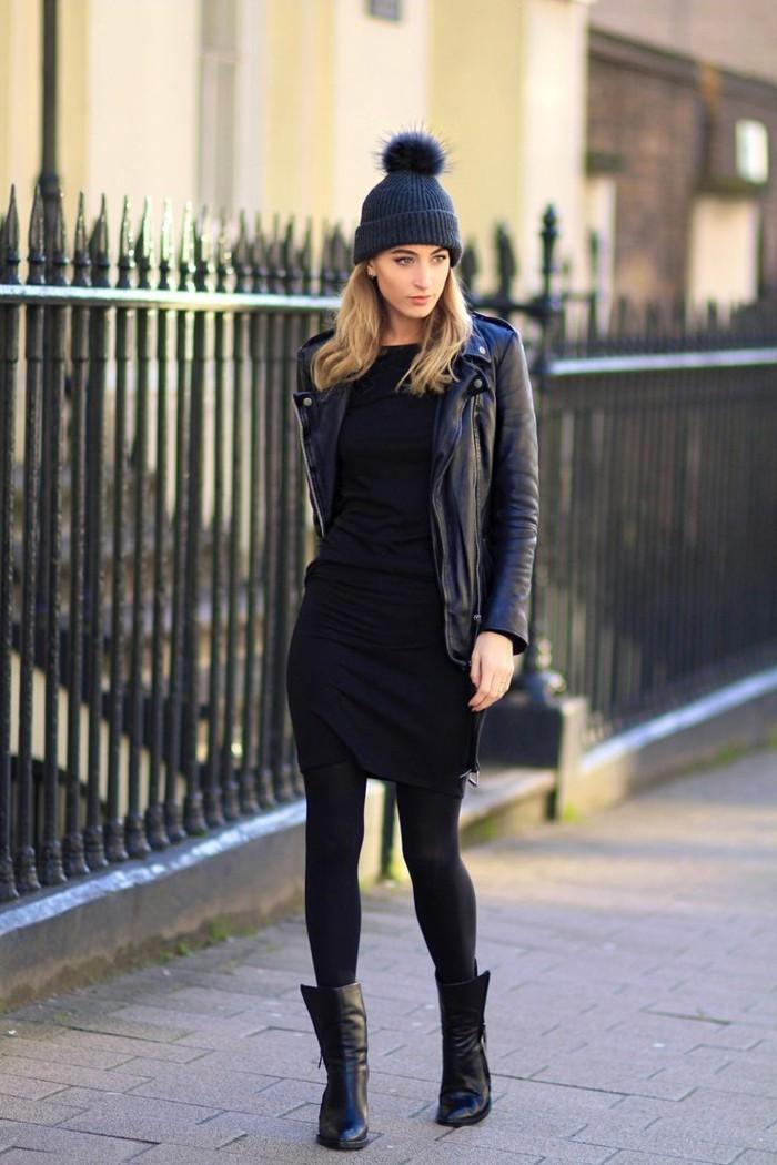 classy-robe-droite-noire-chic-la-robe-noire-classique-chic-hiver